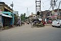 NH 2B and Local Road Junction - Gukara New Town - Bardhaman 2014-06-28 5146.JPG