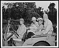 NH 62562 Fleet Admiral Nimitz in a Jeep on Guam with some of his Staff Officers.jpg