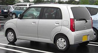 Nissan Pino - Image: NISSAN PINO rear