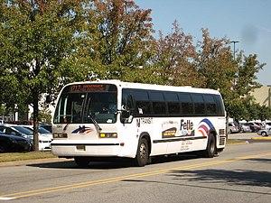 New Jersey Transit Nova RTS 82VN suburban 1587...