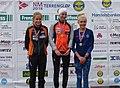 NM Terrengløp Bratsberg 2018 Seierspall kvinner junior.jpg