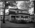NORTH ELEVATION, PERSPECTIVE, LOOKING SOUTHWEST - Casino Building, Ravina Park, Highland Park, Lake County, IL HABS ILL,49-HIPA,1-6.tif