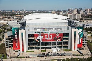 NRG Stadium - NRG Stadium in Super Bowl LI livery.