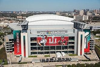 Super Bowl LI halftime show - NRG Stadium, where the Super Bowl LI and the halftime show took place