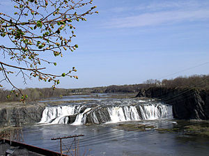 Cohoes Falls am Mohawk River