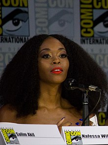 Nafessa Williams Comic Con San Diego 2017 (cropped).jpg