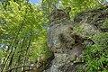 Nagelfluhfelsen am Kalvarienberg, Bad Tölz, Germany Geotopnummer 173A008.jpg