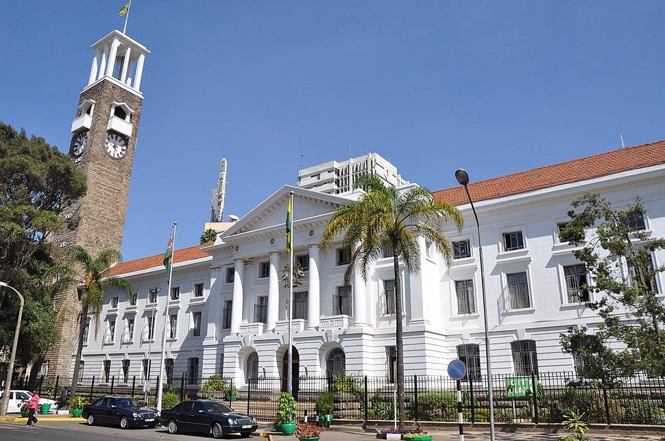 Nairobi city hall