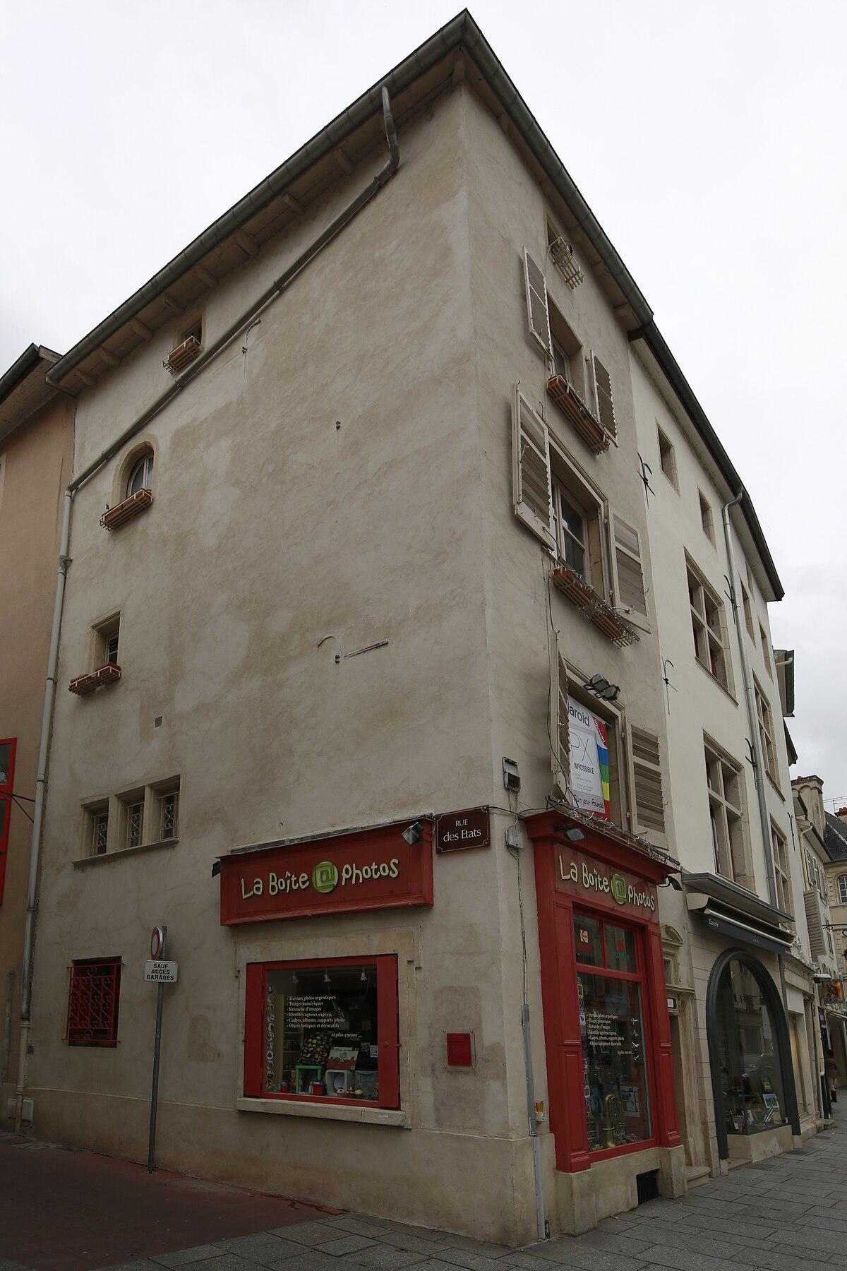 Rue des tats nancy wikip dia for Rue catherine opalinska nancy
