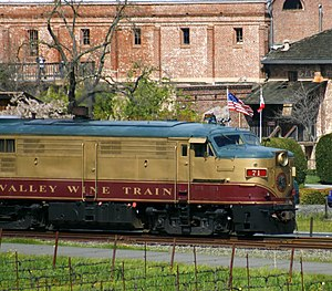 The Napa Valley Wine Train 1
