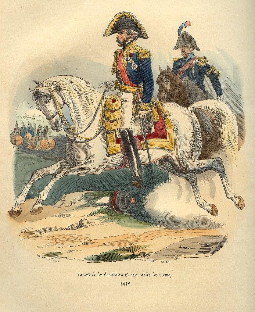 Napoleon Division General by Bellange