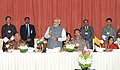 Narendra Modi addressing at the banquet, hosted by the Prime Minister of Bhutan, Mr. Lyonchhen Tshering Tobgay, in Thimphu, Bhutan. The Union Minister for External Affairs and Overseas Indian Affairs.jpg