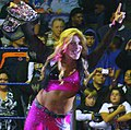Natalya as Divas Champion house show 2011.jpg