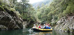 Mohaka River - Floating through the native forest of the upper Mohaka