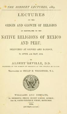 Native Religions of Mexico and Peru.djvu