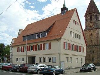 Ostfildern - Nellingen-Town hall
