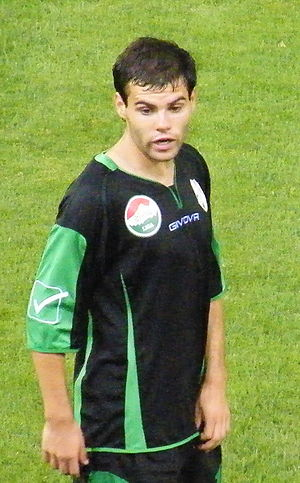 Nemanja Nikolić (footballer, born 1987) - Nikolić playing for Kaposvár