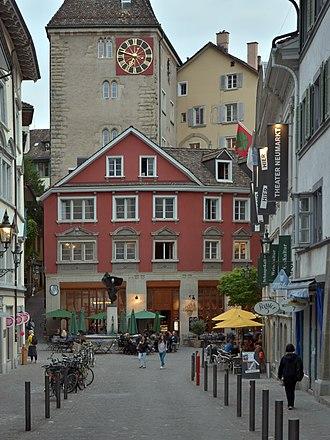 Grimmenturm - Grimmenturm as seen from Neumarkt