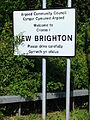 New Brighton, Flintshire sign - DSCF1150.JPG