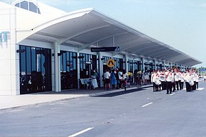 Darwin International Airport - Opening of the new airport terminal in December 1991