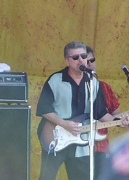 Johnny Rivers tijdens het New Orleans Jazz Fest anno 2007