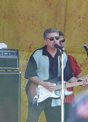 Johnny Rivers - Rivers performing in 2007 at the New Orleans Jazz Fest