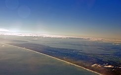 New Zealand landfall - Kaipara Harbour, 16 Aug. 2010 - Flickr - PhillipC.jpg