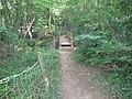 New footbridge over stream near Little Walstead Farm - geograph.org.uk - 1348055.jpg