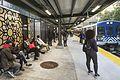 New platform at Fordham station, October 2016.jpg