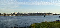 Newcastle CBD from Stockton 001.jpg