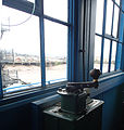 Newport Transporter Bridge, control handle.jpg