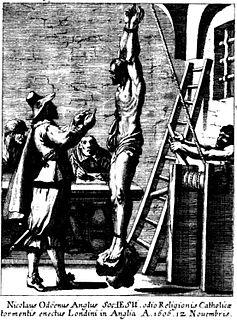 Nicholas Owen (Jesuit) Jesuit lay brother and martyr