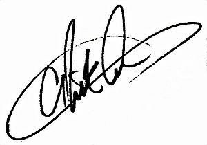 Nick Carter (musician) - Image: Nick carter signature