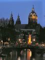 Nicolaaskerk Amsterdam Night.png