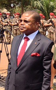 Central African politician and lawyer
