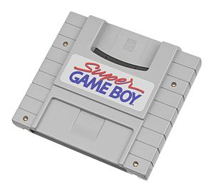 Super Game Boy - North American version cartridge.