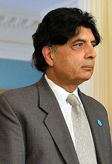 Chaudhary Nisar Ali Khan Politician in Pakistan