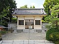 Nishikawa Shinmei-sha shrine haiden, Futamuradai Toyoake 2018.jpg