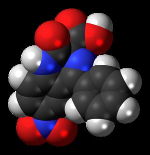 Nitrazepate - Image: Nitrazepate 3D spacefill