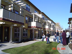 Development of non-profit housing in the United States - An example of a non-profit multi-family housing development in Tacoma, WA