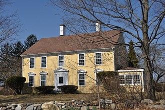 Samuel Osgood House (North Andover, Massachusetts) - Image: North Andover MA Samuel Osgood House