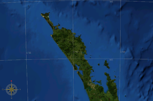 Northland Peninsula - The Northland Peninsula stretches from the Auckland isthmus to the northern tip of New Zealand's North Island.