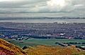 North from Arthur's Seat, Edinburgh, Scotland, 1962 (153972890).jpg