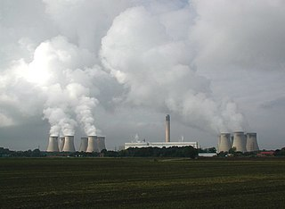 coal-fired power station in North Yorkshire, England