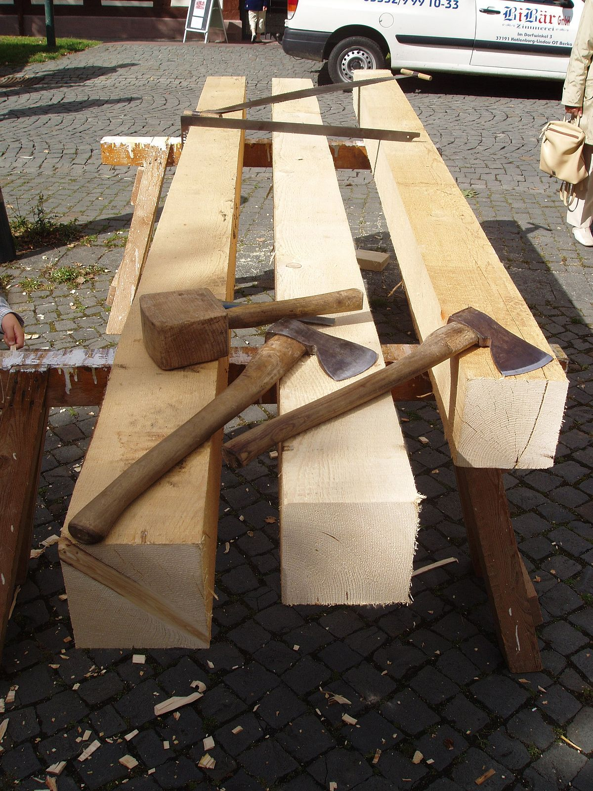 Legno strutturale wikipedia - Tavole di legno per edilizia ...