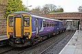 Northern Rail Class 156, 156483, Thatto Heath railway station (geograph 3795582).jpg