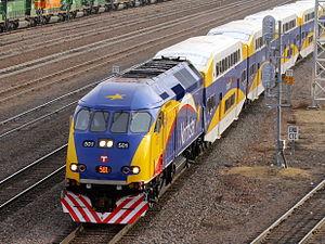 Metro Transit rolling stock - Image: Northstar Commuter MNRX 501