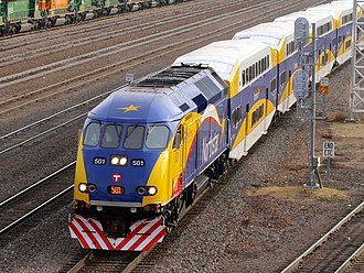 Northstar Line - Image: Northstar Commuter MNRX 501
