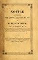 Notice historique sur les ouvrages et la vie de M. Le B.on Cuvier (IA noticehistorique00duve).pdf