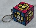 Novelty Keychain Rubiks Cube.JPG
